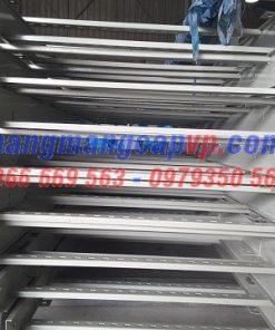 Sản xuất thang cáp 800x100 sơn tĩnh điện