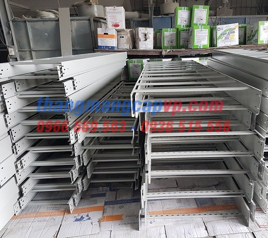 Sản xuất thang cáp 600x100, cable ladder 600x100